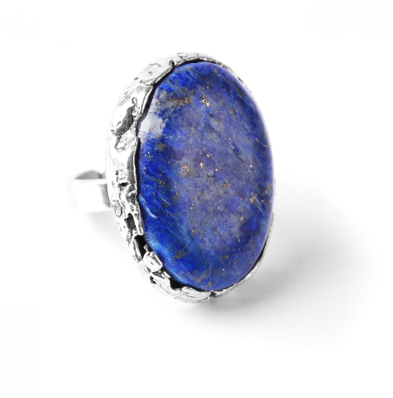 ANAY bague lapis lazuli