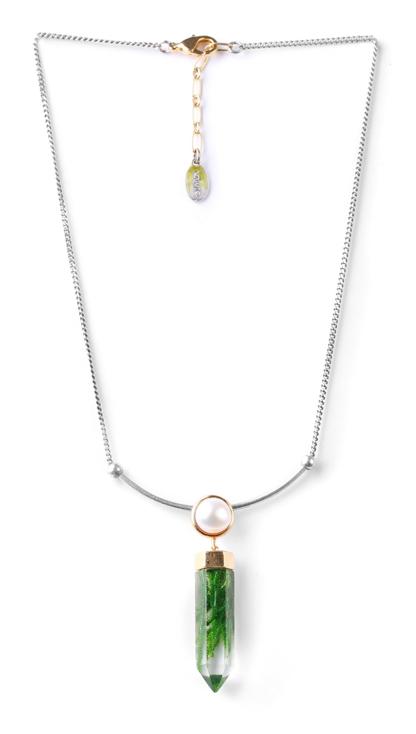 PERLE D'EAU DOUCE collier court