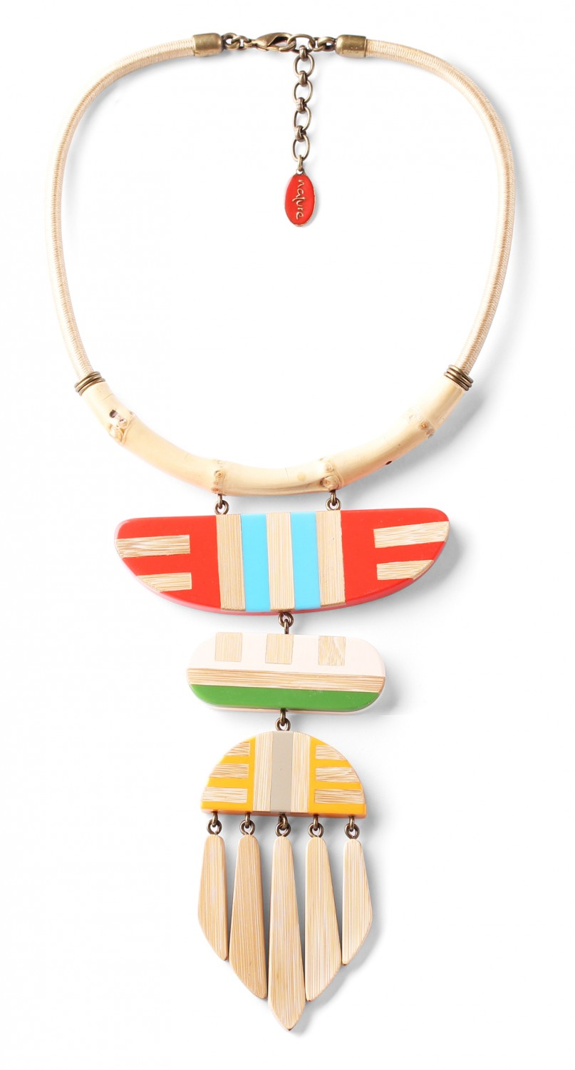 BAMBOO STRIPES LE collier