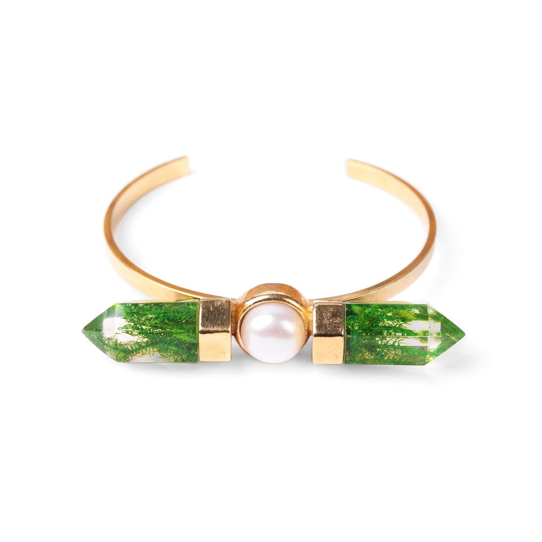 PERLE D'EAU DOUCE  bracelet jonc perles