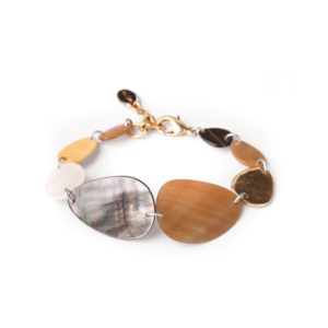 ECHAPPEE BELLE bracelet huit nacres