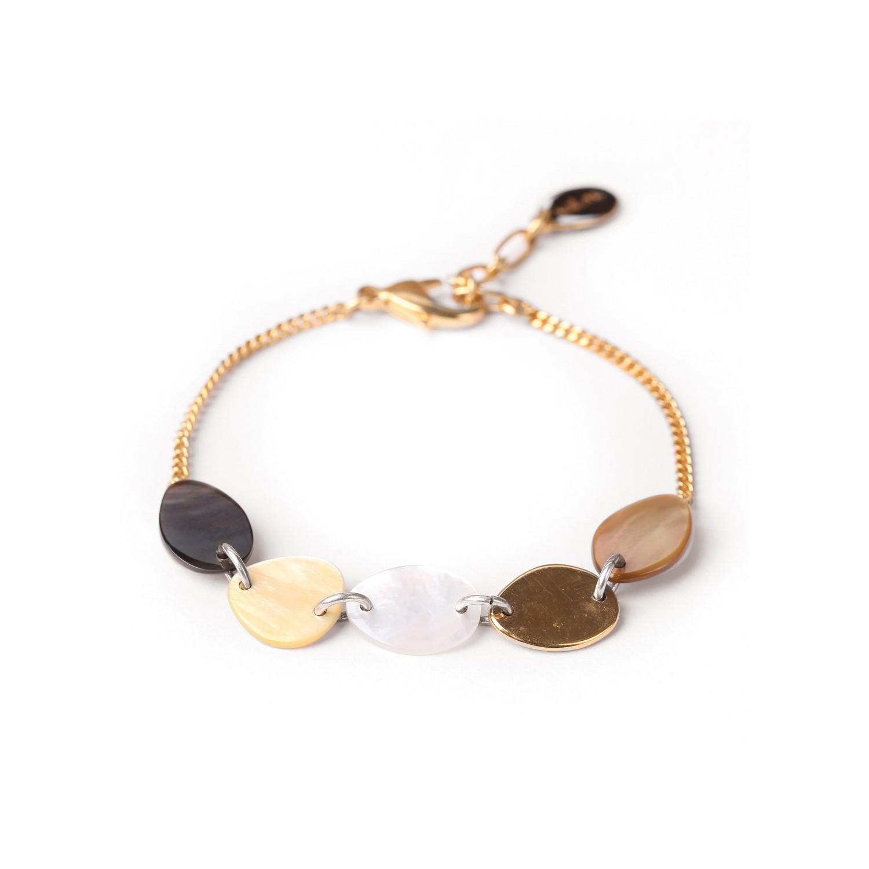ECHAPPEE BELLE bracelet chaine dorée