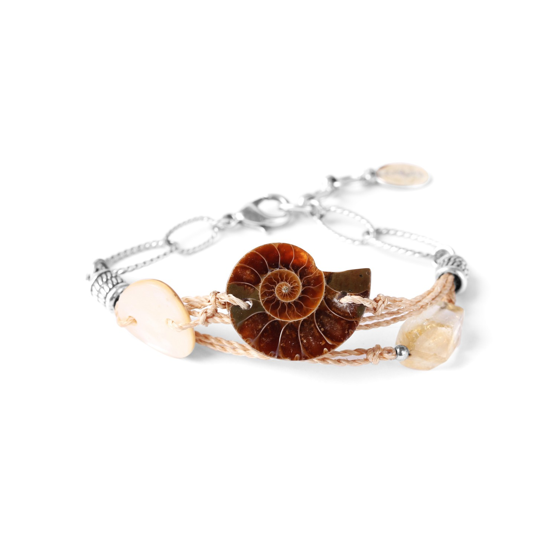 WABI SABI bracelet trois rangs