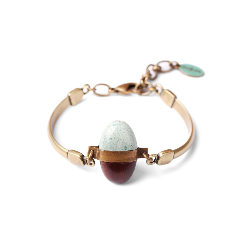 PEBBLES bracelet bois de fer