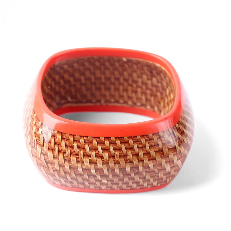 MON PANIER  bracelet bangle carré