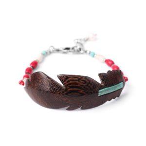 INDIANA bracelet plume