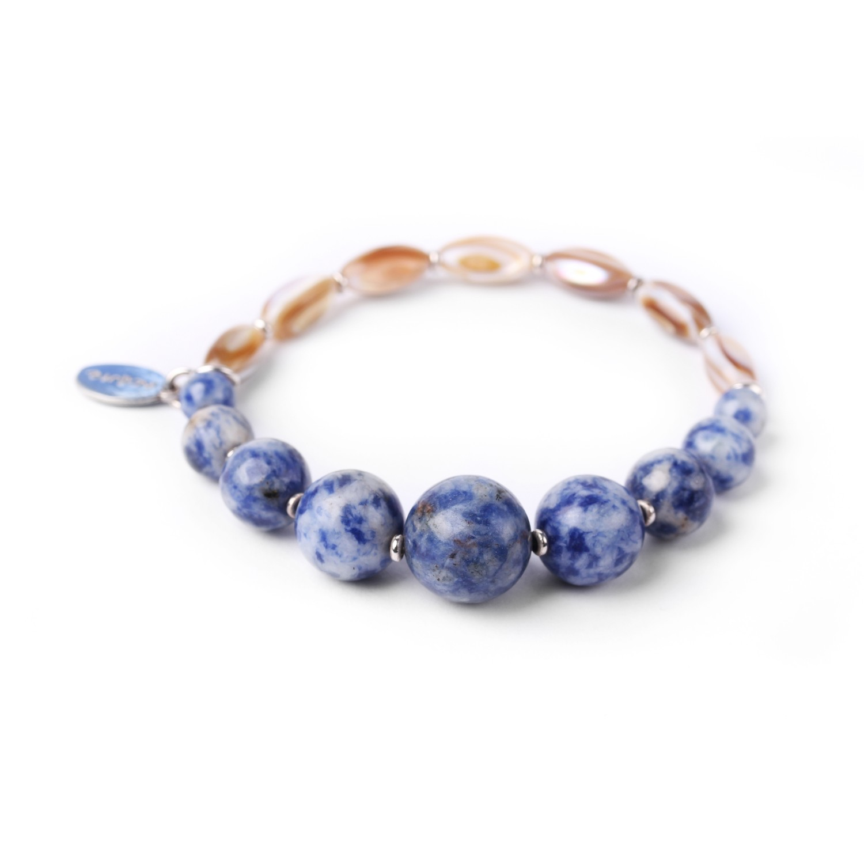 SANTORINI bracelet extensible sodalite