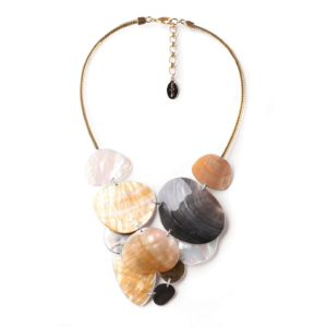 ECHAPPEE BELLE  collier nature XL