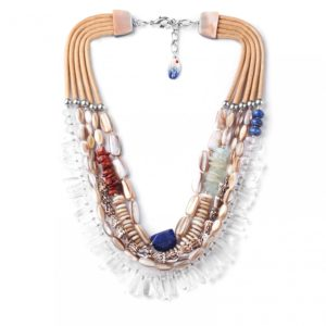 BAHIA  collier multi rangs XL