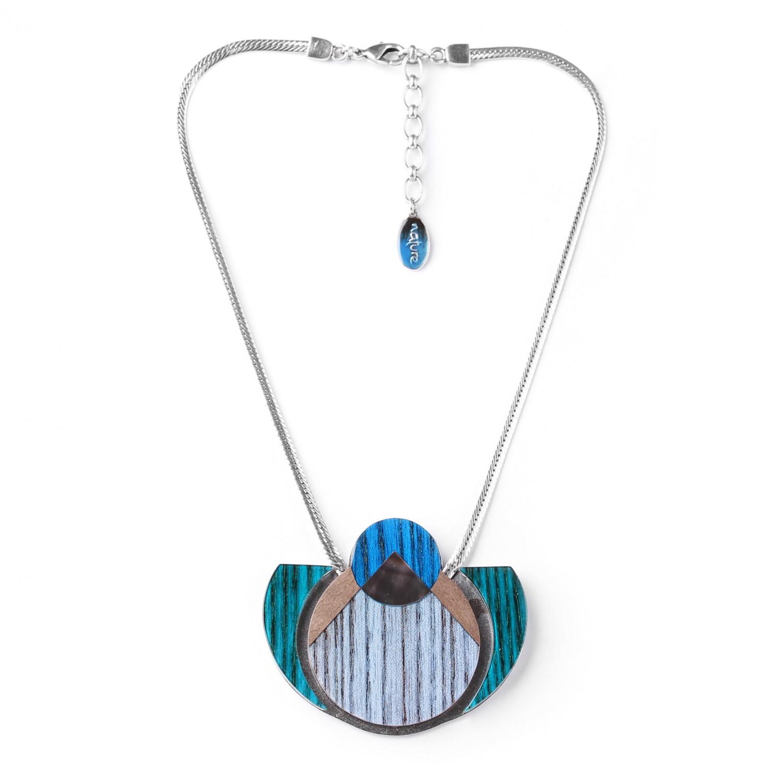 KHATAM SILVER collier pendentif