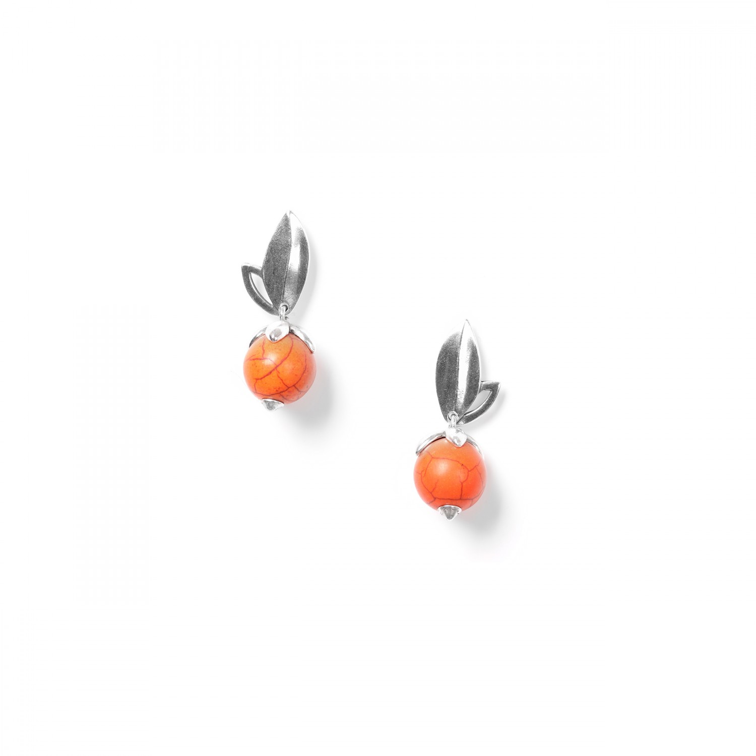 LES FRUITS orange howlite ER