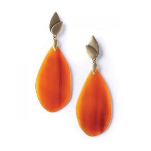 LAND ART *BO corne orange