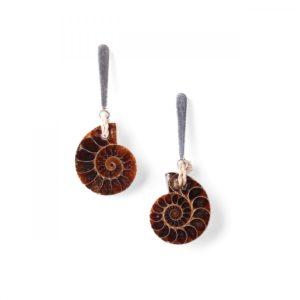 WABI SABI BO ammonite top métal