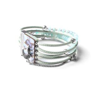 LES MULTIS bracelet amazonite