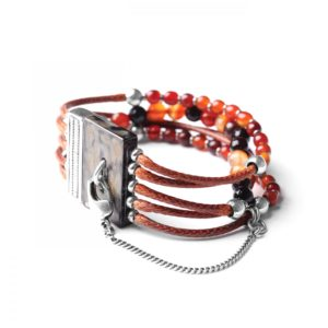 LES MULTIS bracelet agate