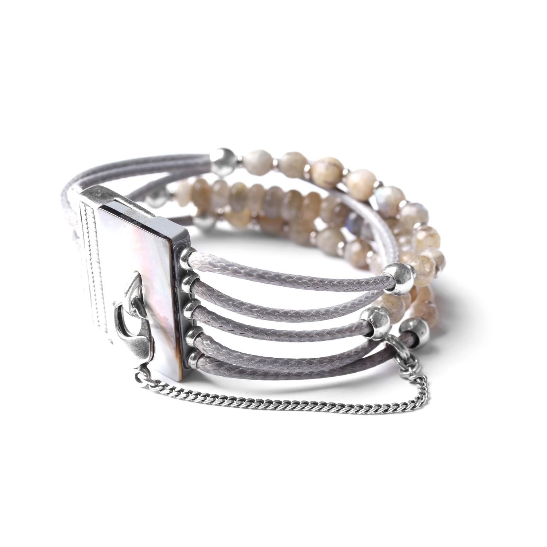 LES MULTIS bracelet labradorite