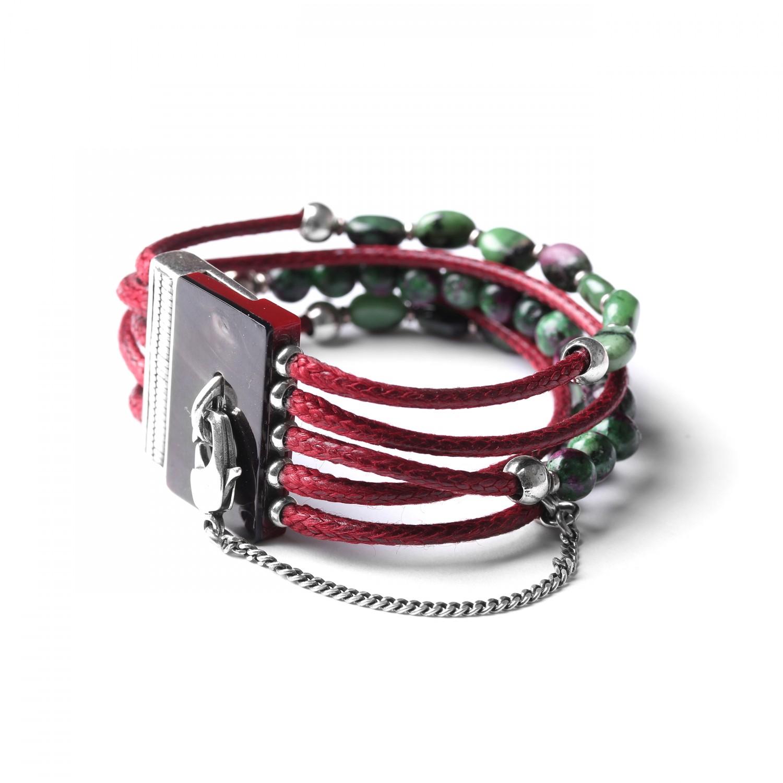 LES MULTIS bracelet zoÏsite