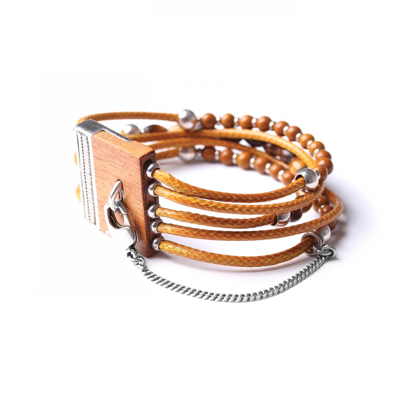 LES MULTIS bracelet oeil de tigre