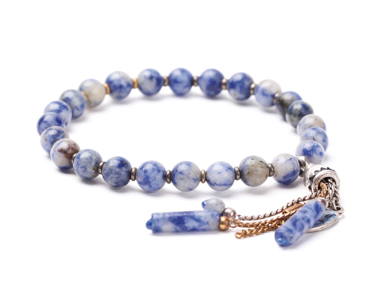 BABYLONE bracelet extensible pampilles