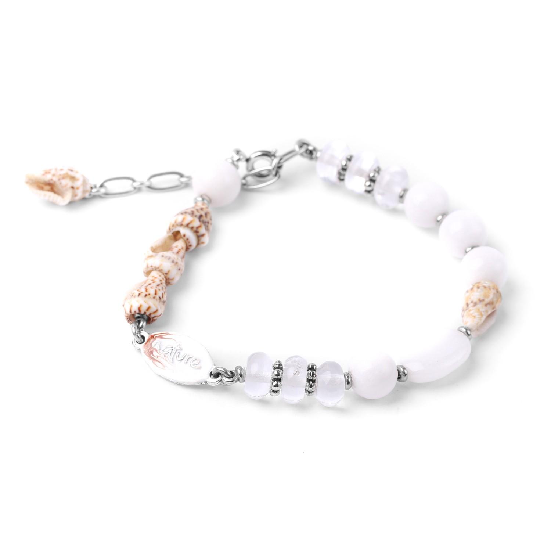 ESCAPADES bracelet blanc