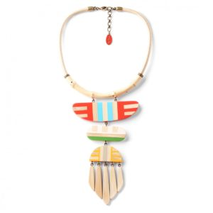 BAMBOO STRIPES collier multi forme