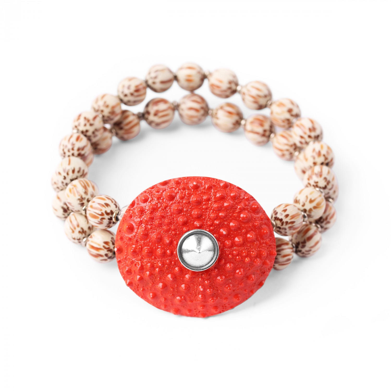 BORA BORA  bracelet extensible deux rangs