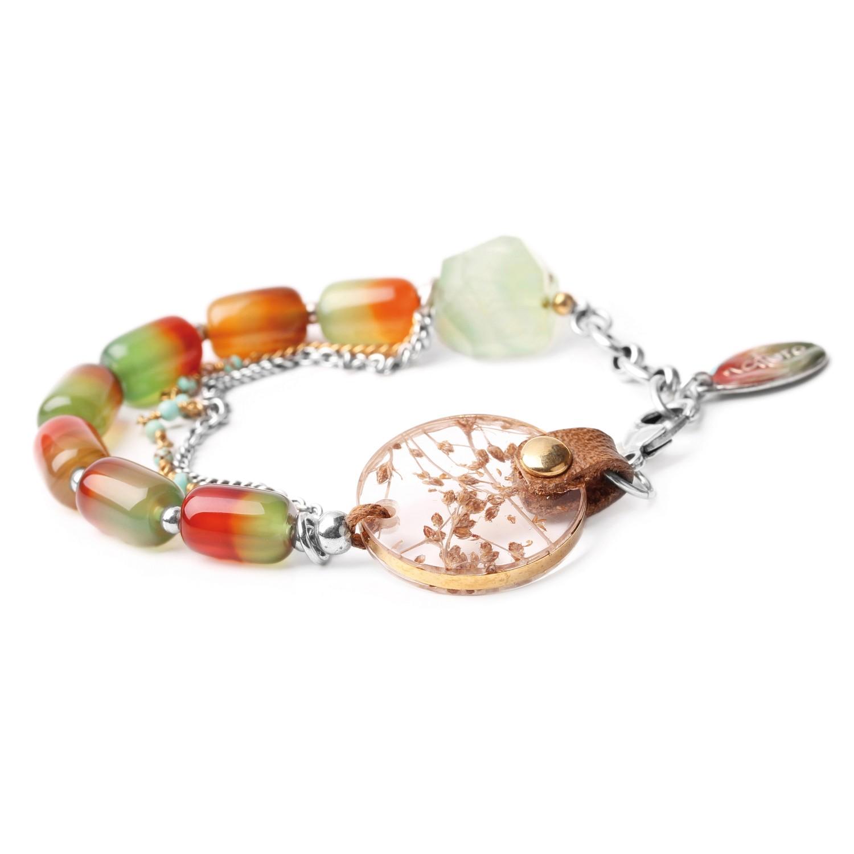 BOTANISTE bracelet asymétrique