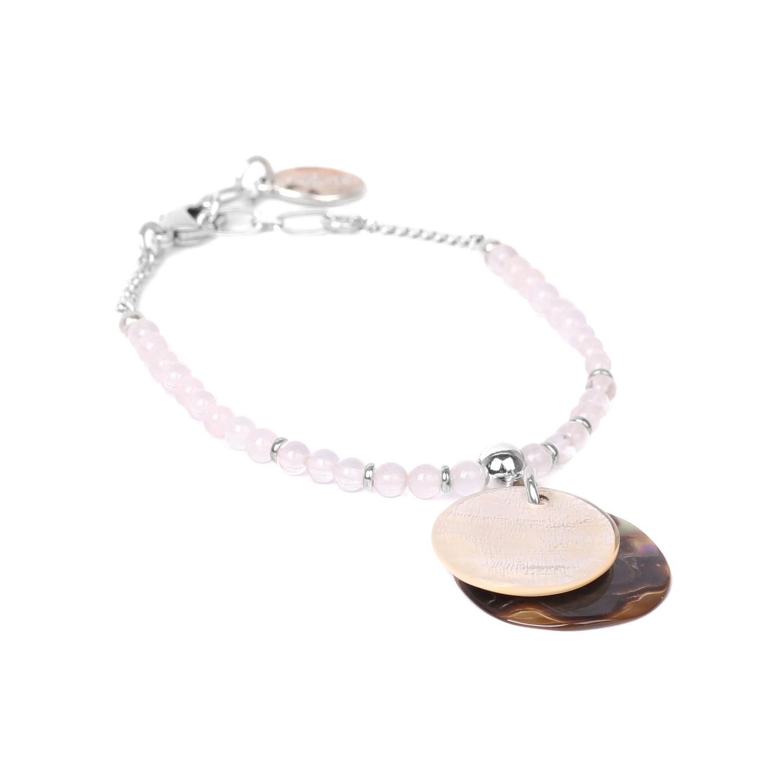 LA LUNA bracelet quartz rose