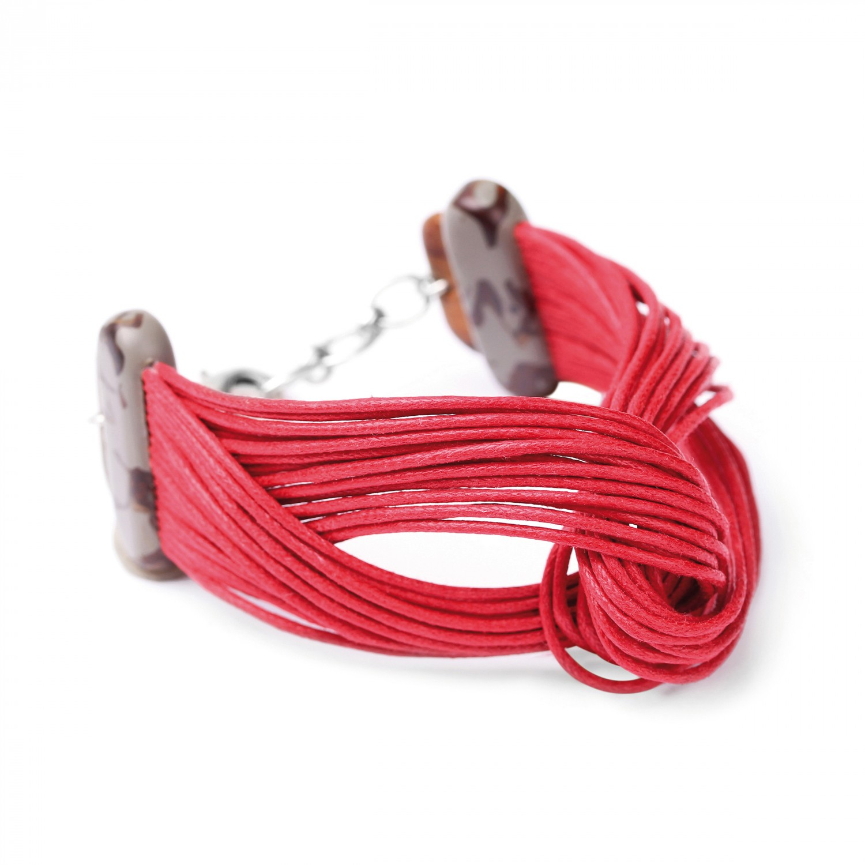 CONCRETE JUNGLE bracelet noeud