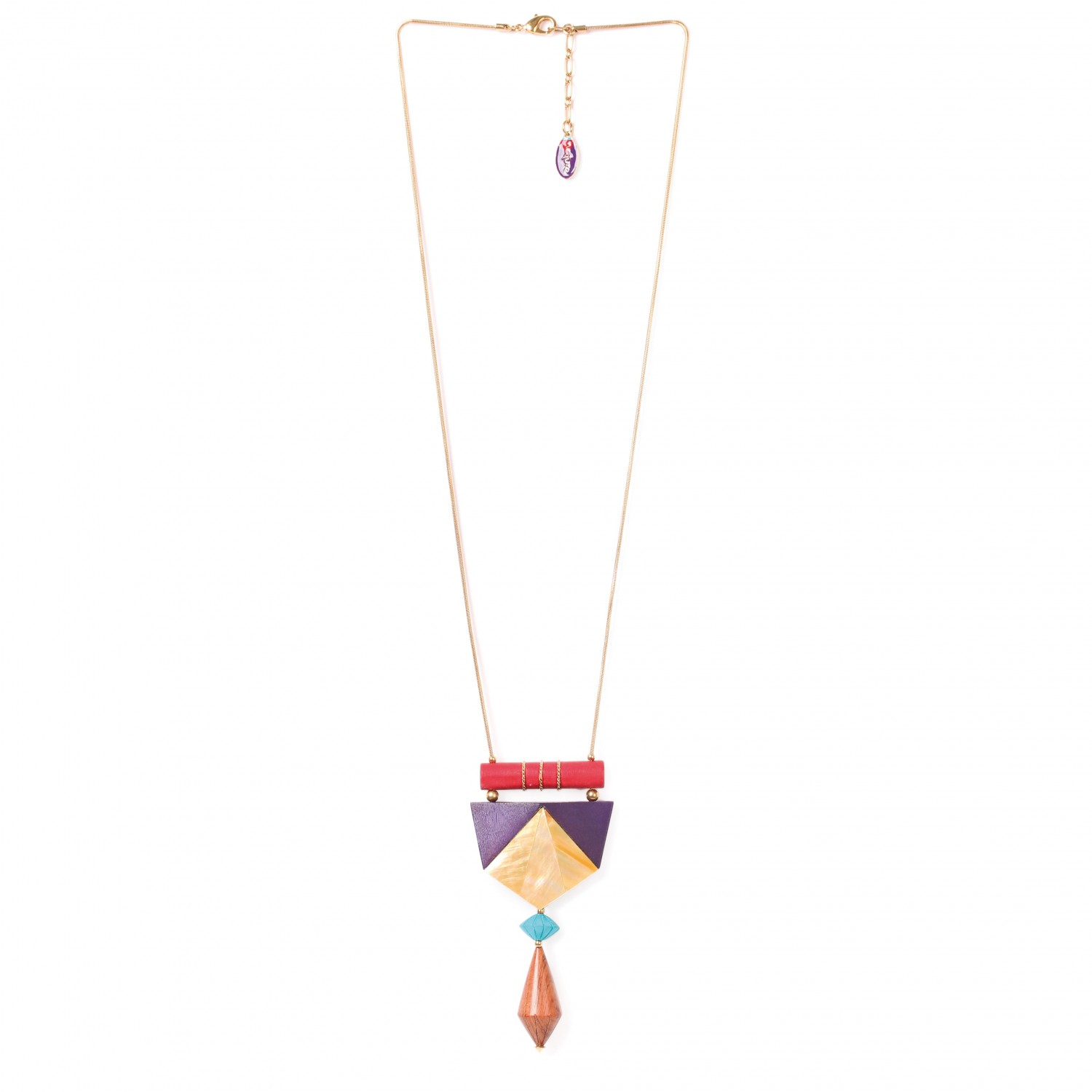 ARTY TOTEM collier long