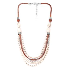 CASABLANCA collier 5 rangs