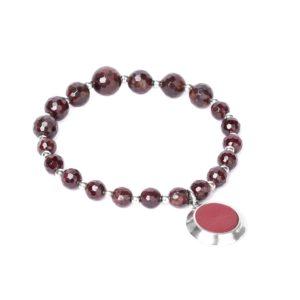 GRENAT bracelet extesnible dégradé