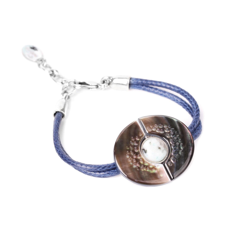 LOTUS bracelet 2 demi lune