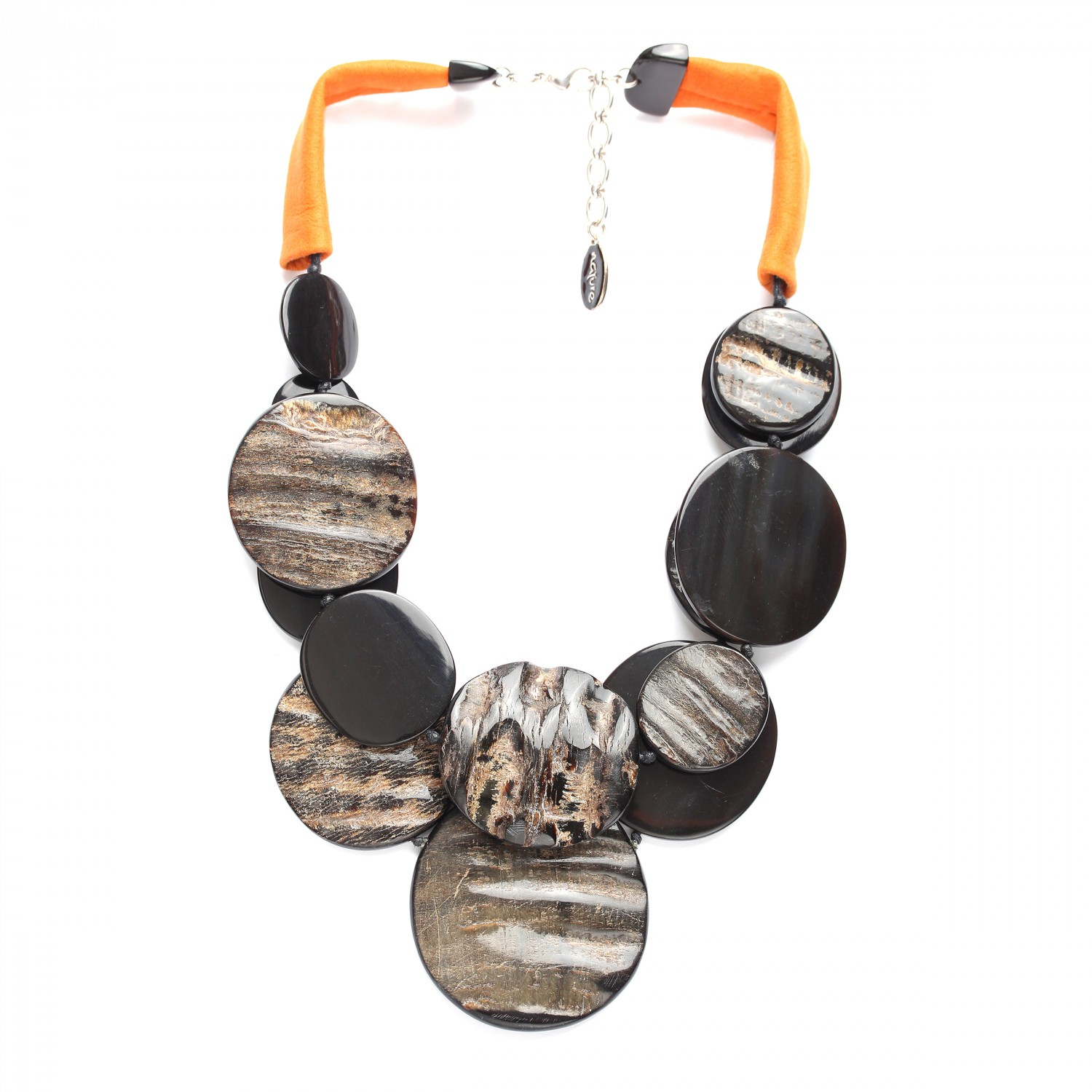 PINATUBO collier 2 rangs