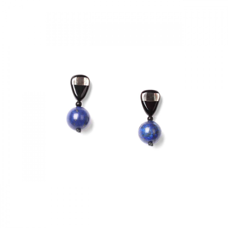 DEEP BLUE  BO perle ronde