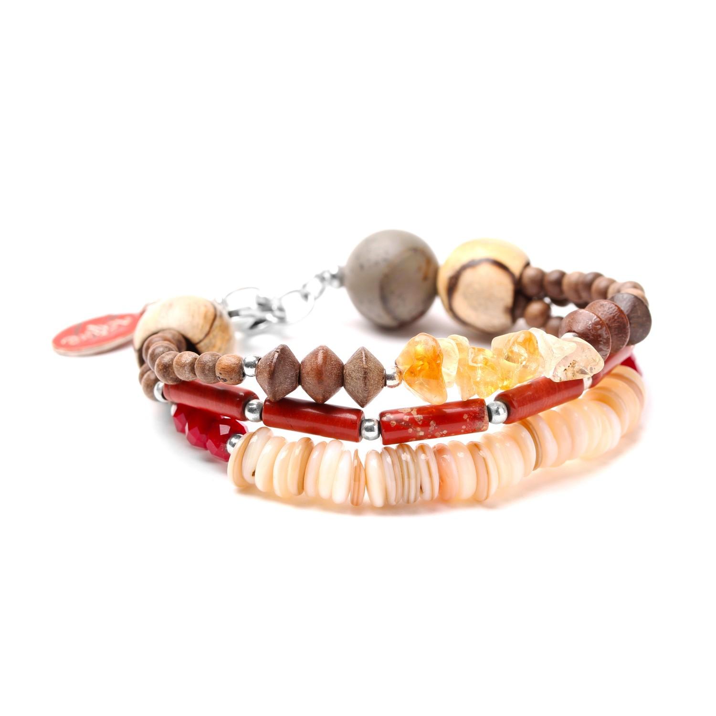 DESERTIGO bracelet 3 rangs