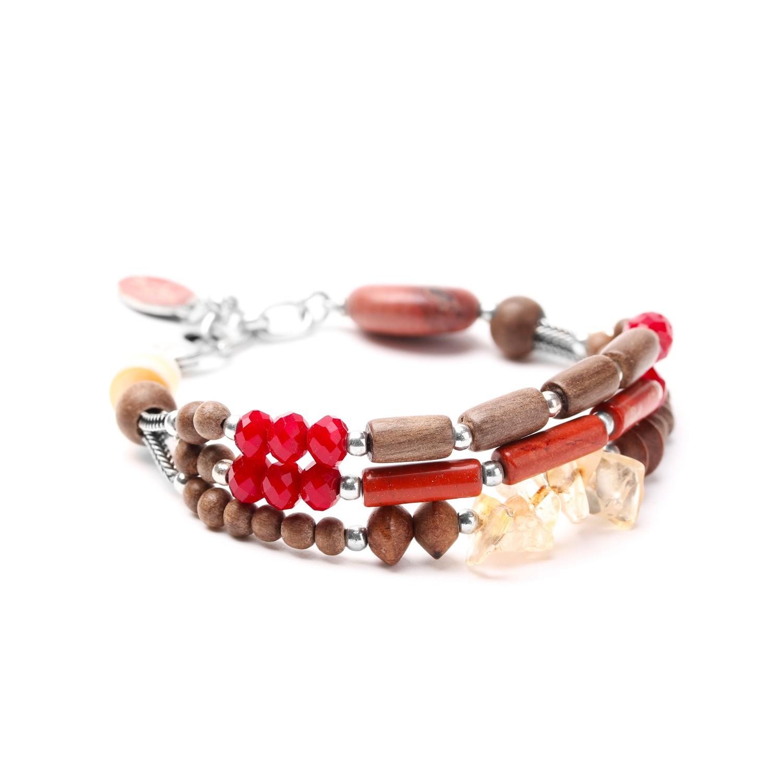 DESERTIGO bracelet fin 3 rangs