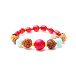 BROCELIANDE bracelet extensible graines