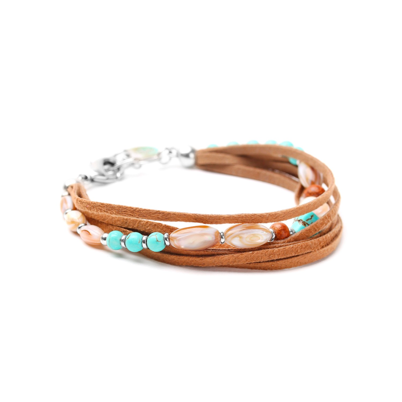 MANGAREVA bracelet 6 rangs