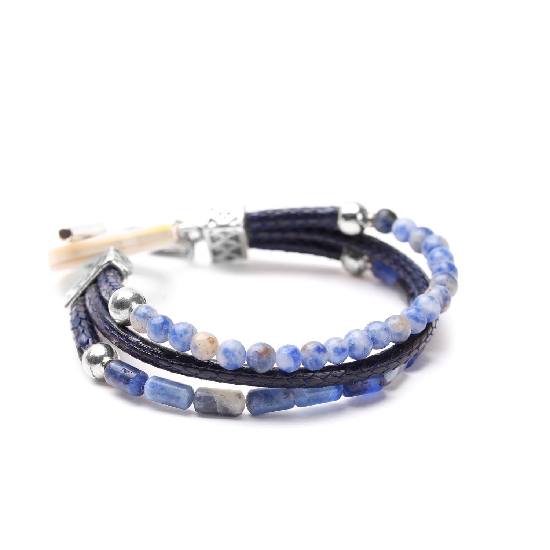CYCLADES bracelet 3 rangs