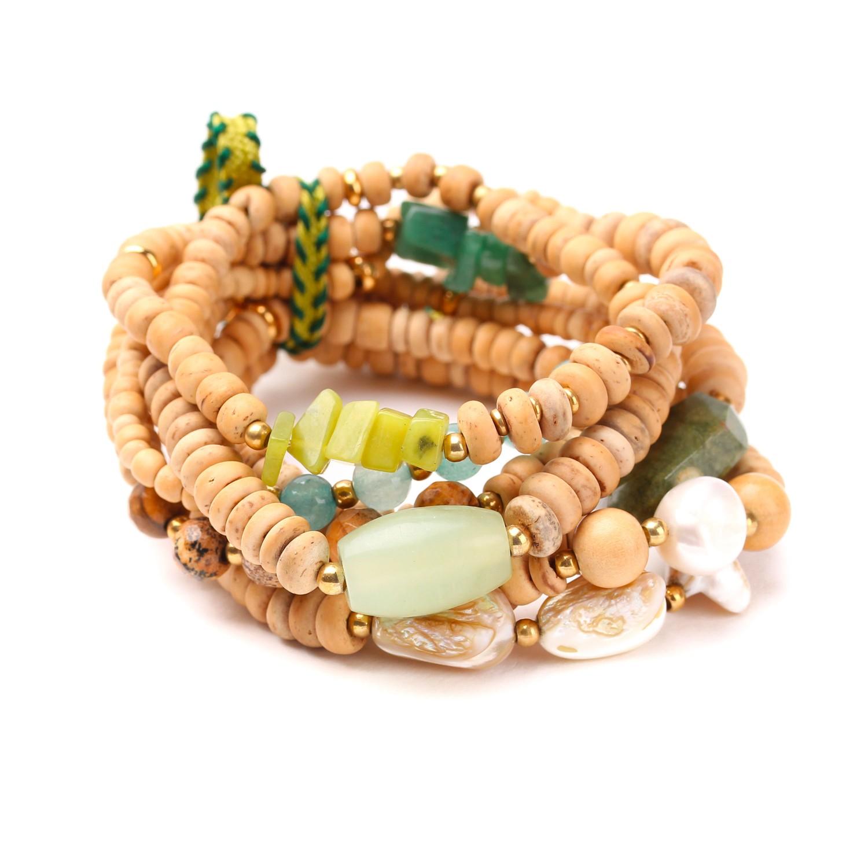 DANUBE bracelet extensible multirangs