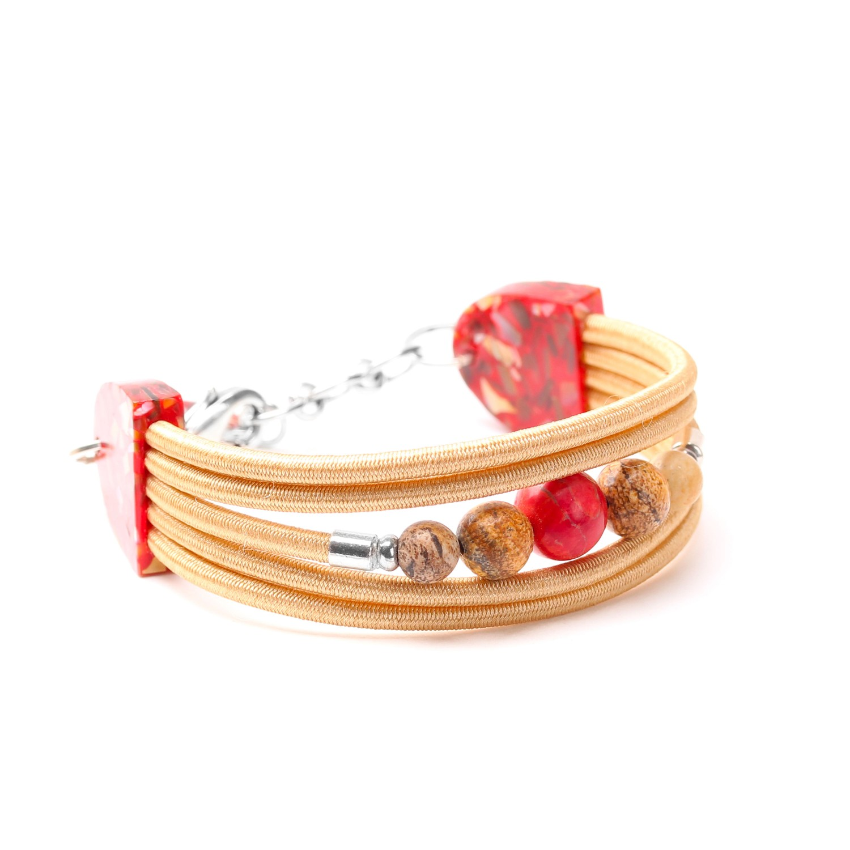 CHEYENNE bracelet 5 rangs