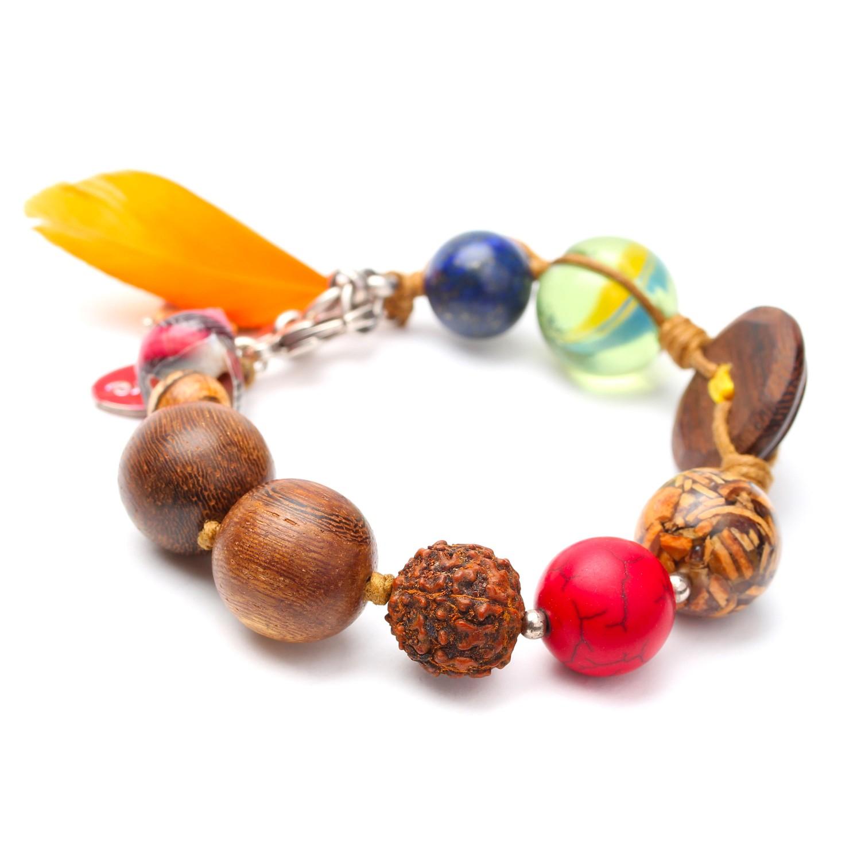 ECO DAY bracelet plume orange