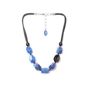 DEEP BLUE collier simple