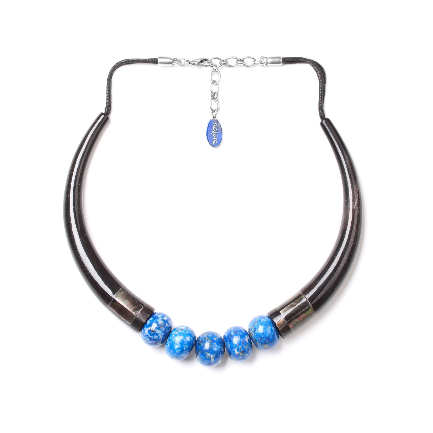 DEEP BLUE collier trompes
