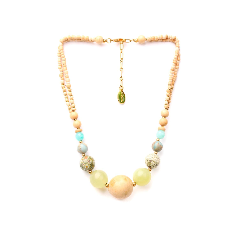 DANUBE collier dégradé de perles
