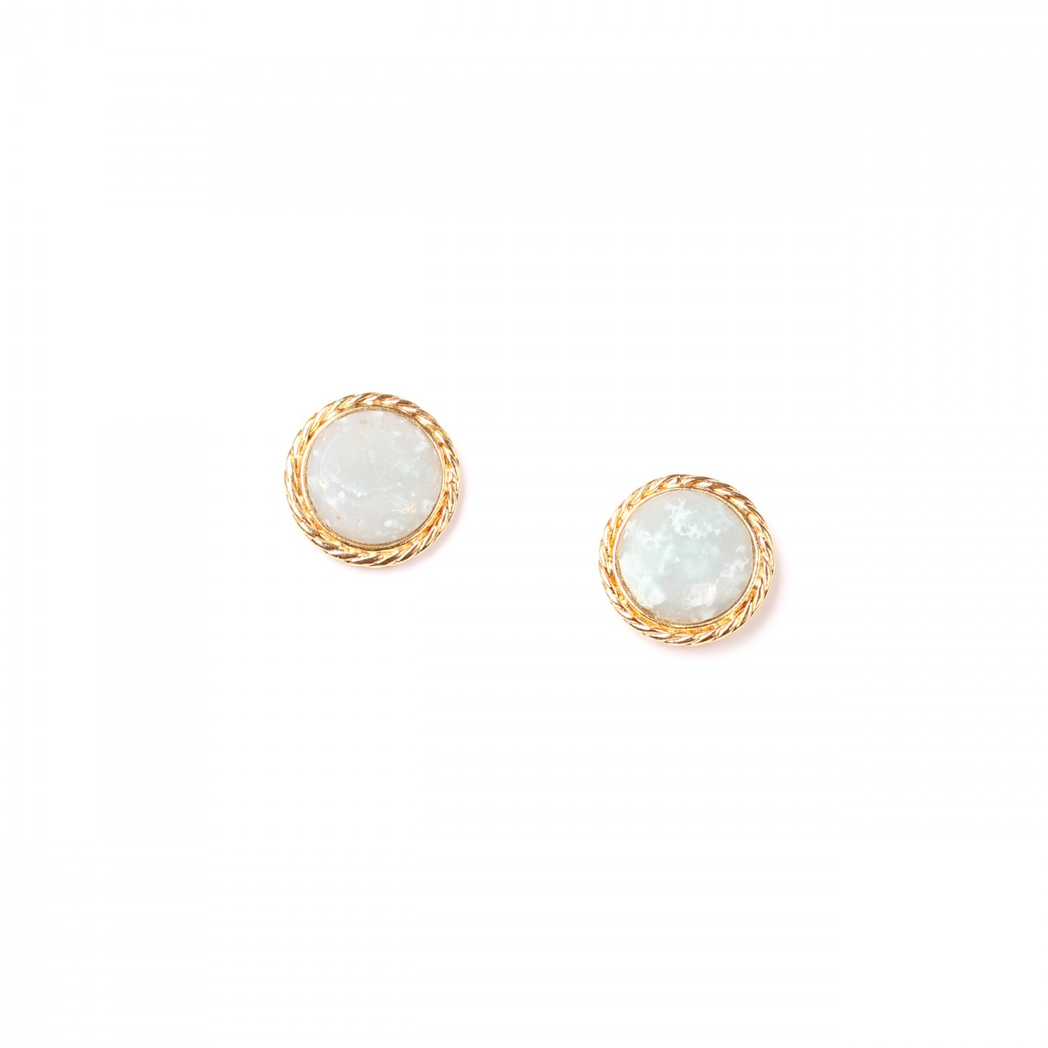 LA SCALA amazonite stud ER