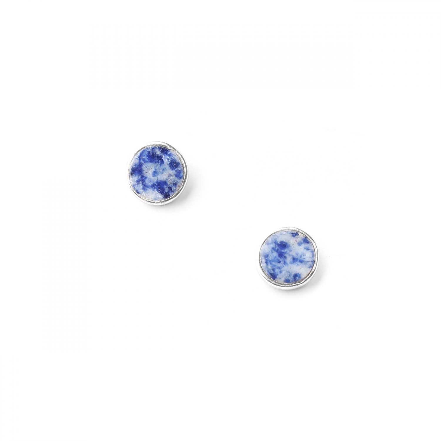 CYCLADES sodalite small round post ER