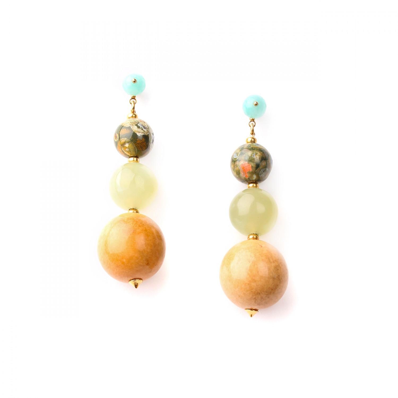 DANUBE BO dégradé de perles