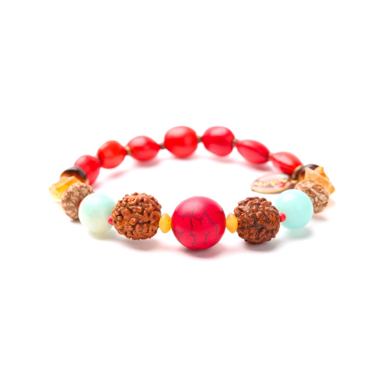 BROCELIANDE seed stretch bracelet